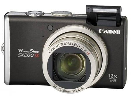 Canon PowerShot SX200 IS 1