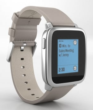 Pebble Time Steel 3