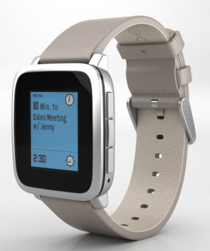 Pebble Time Steel 1