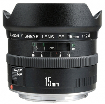 Canon EF 15 mm f/2,8 Fish-Eye 1