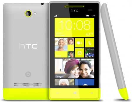 HTC Windows Phone 8S 3