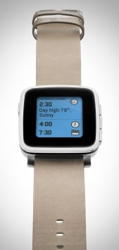 Pebble Time Steel 10