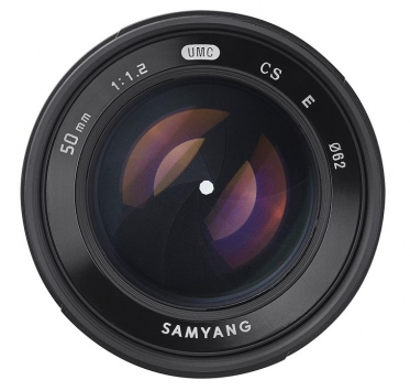 Samyang 50mm F1.2 AS UMC CS 3
