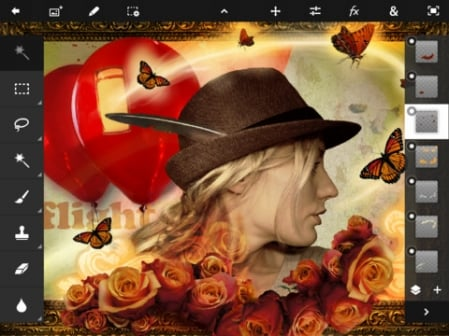 Adobe Photoshop Touch For iPad 2 1