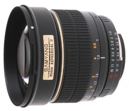 Samyang 85mm f/1.4 Aspherical 1