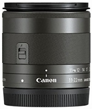 Canon EF-M 11-22mm f/4-5.6 IS STM 2