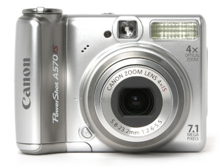 Canon PowerShot A570 IS 1