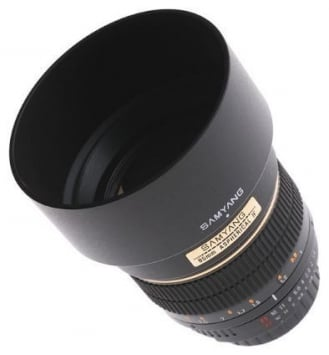 Samyang 85mm f/1.4 Aspherical 2