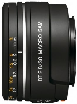Sony 30 mm F/2.8 DT SAM Macro 1