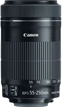 Canon EF-S 55-250mm F/4-5.6 IS STM 3