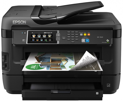 Epson WorkForce WF-7620 1