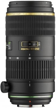 Pentax 60-250 mm f/4 ED IF SDM SMC DA* 1