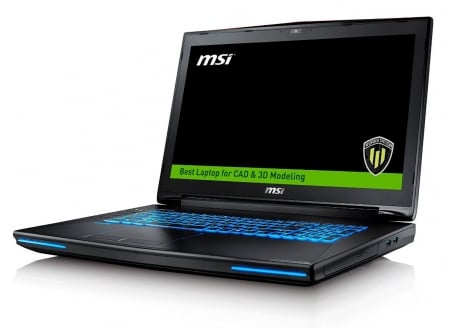 MSI WT72-6QM Workstation 2