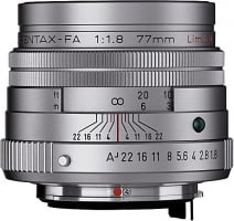 Pentax SMC-FA 77mm f/1.8 Limited