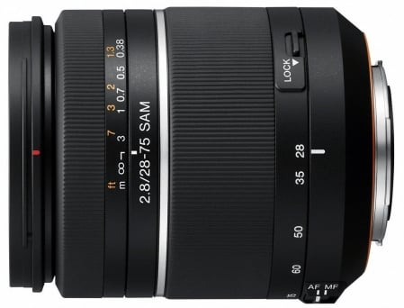 Sony SAL-2875 28-75mm f/2.8 SAM 2