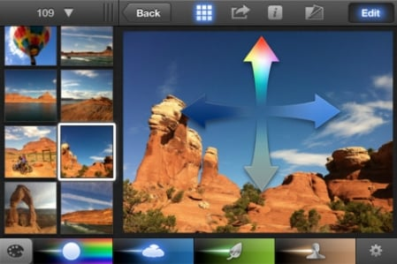 Apple iPhoto for iOS 1