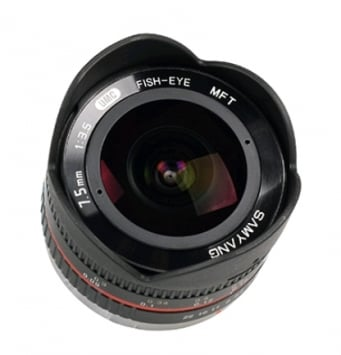 Samyang 7.5 mm f/3.5 UMC Fish-eye MFT 2