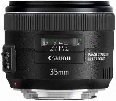 Canon EF 35 mm f/2 2