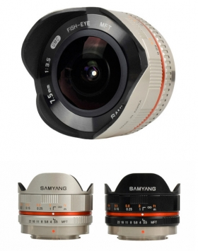 Samyang 7.5 mm f/3.5 UMC Fish-eye MFT 3