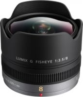 Panasonic 8 mm f/3.5 Lumix G Fisheye