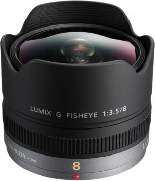Panasonic 8 mm f/3.5 Lumix G Fisheye 1