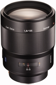 Sony Carl Zeiss Sonnar T* SAL-135F18Z 135 mm f/1.8 1