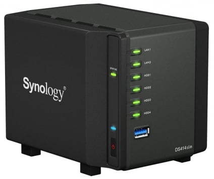 Synology DiskStation DS414slim 4