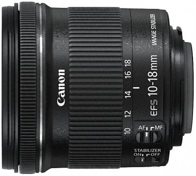 Canon EF-S 10-18mm f/4.5-5.6 IS STM 2
