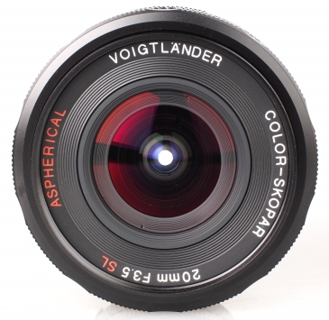 Voigtlander SL 20 mm f/3.5 Aspherical II Color Skopar 3