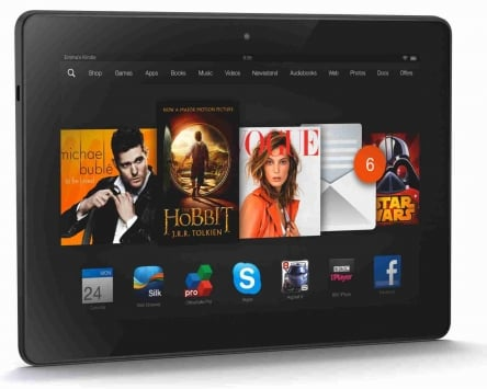 Amazon Kindle Fire HDX 8.9 5