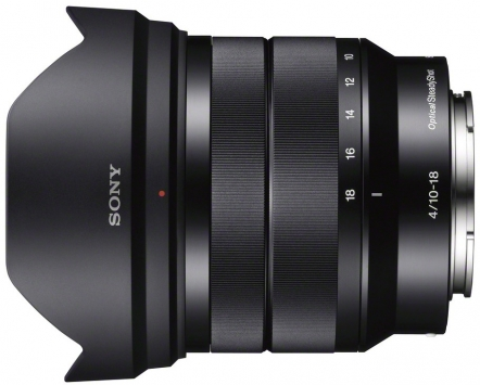 Sony NEX E 10-18mm f/4 OSS 2