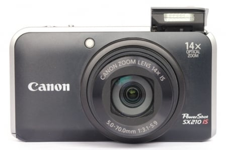 Canon PowerShot SX210 IS 1