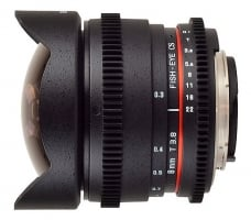 Samyang 8mm T3.8 Asph IF MC Fisheye CS VDSLR