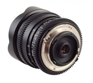 Samyang 8mm T3.8 Asph IF MC Fisheye CS VDSLR 2