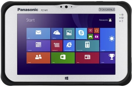 Panasonic Toughpad FZ-M1 1