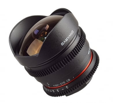 Samyang 8mm T3.8 Asph IF MC Fisheye CS VDSLR 3