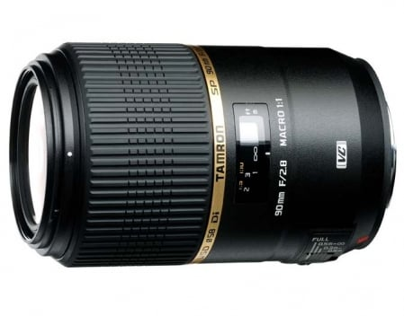 Tamron SP 90mm F/2.8 Di MACRO 1:1 VC USD 1