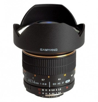 Samyang 14 mm f/2.8 IF ED UMC Aspherical 1