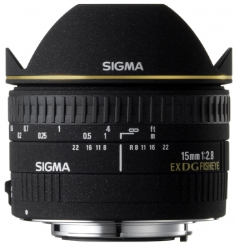 Sigma 15 mm f/2.8 EX DIAGONAL FISHEYE 2