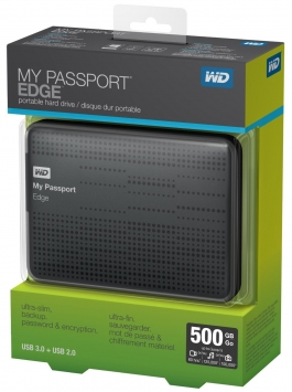 WD My Passport Edge 5