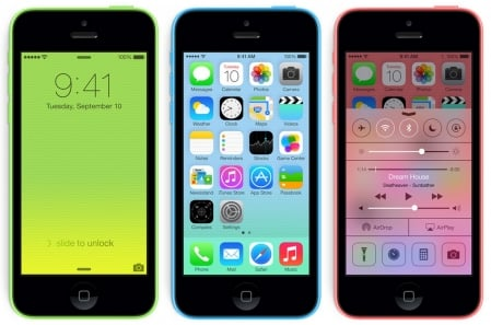 Apple iPhone 5C 2