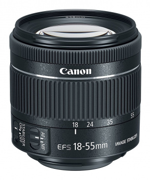 Canon EF-S 18-55 f/4-5.6 IS STM 1