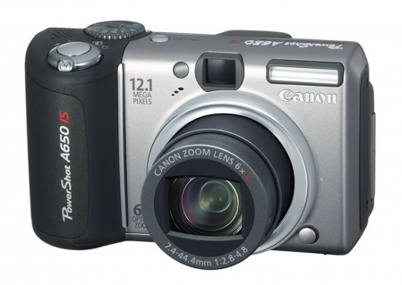 Canon PowerShot A650 IS 1