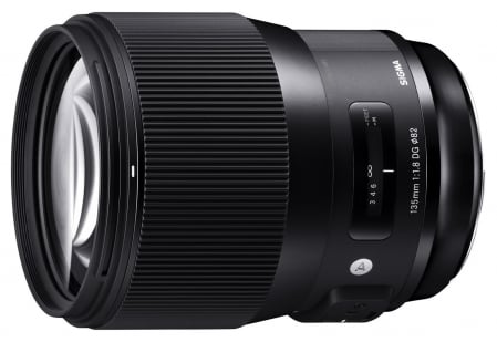 Sigma 135mm f/1.8 DG HSM Art 2