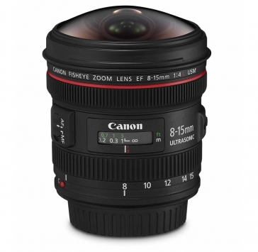 Canon EF 8-15mm f/4 L USM Fisheye 1