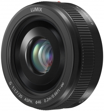 Panasonic 20 mm F1.7 ASPH Lumix G 1