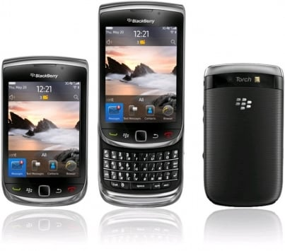 Blackberry 9810 Torch 3