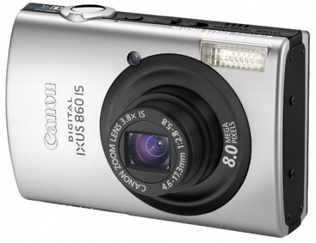 Canon IXUS 860 IS (PowerShot SD870 IS) 1