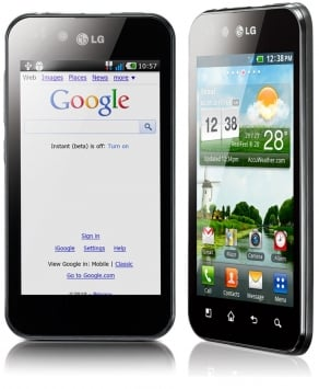 LG P970 Optimus Black 3