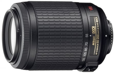Nikon AF-S Nikkor DX 55-200 mm f/4-5.6 G IF-ED VR 1